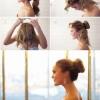 Як красиво зібрати волосся у хвіст або пучок