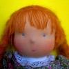 Як зшити іграшку і її дрібні деталі: ніс ляльки, очі, волосся