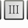 Римські цифри на клавіатурі: де їх знайти?