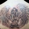 Татуювання ангела: значення тату. Татуювання крил ангела