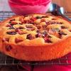 Пиріг на кефірі зі сливами. Рецепти